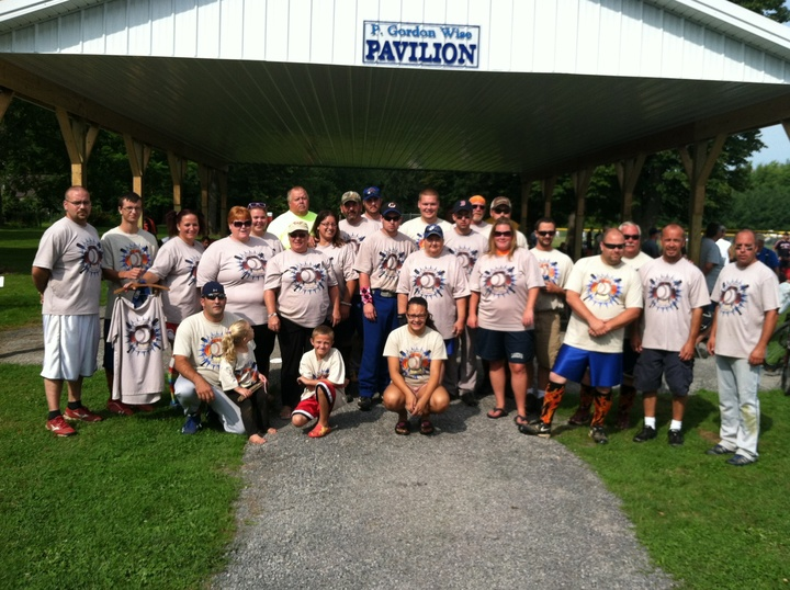 Williamson Fire Department Softball T-Shirt Photo