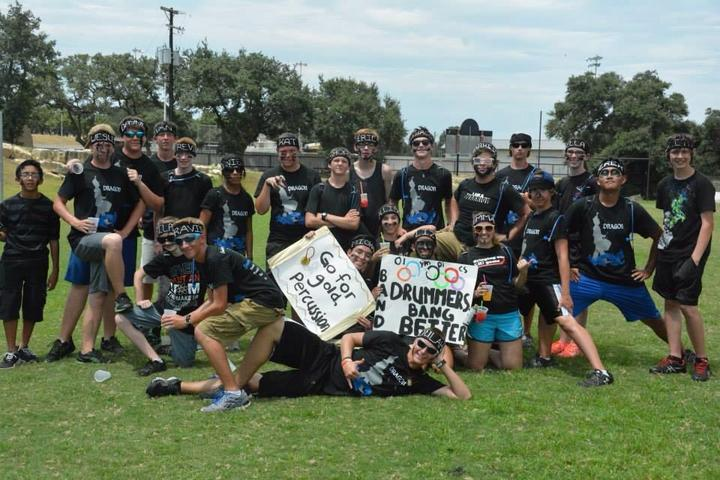 First Annual Band Olympics, Team Percussion! T-Shirt Photo
