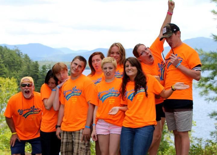Young Life Camp Craziness T-Shirt Photo