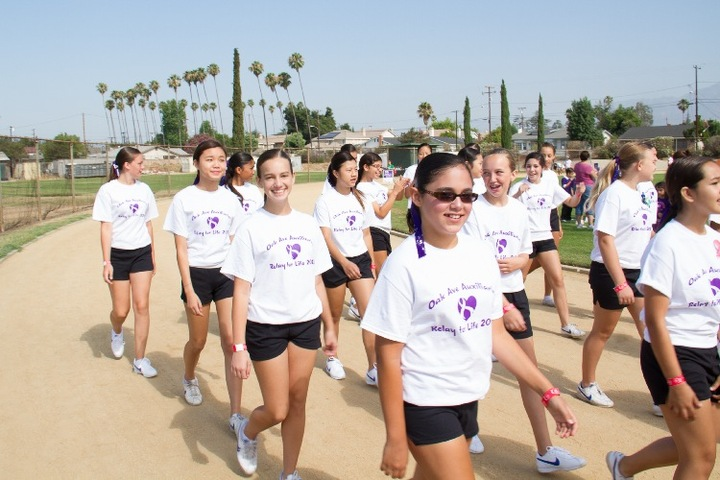 Royalettes Participate At Relay For Life T-Shirt Photo