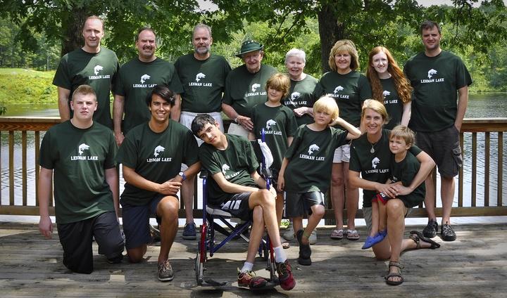 Stevenson Family Reunion T-Shirt Photo