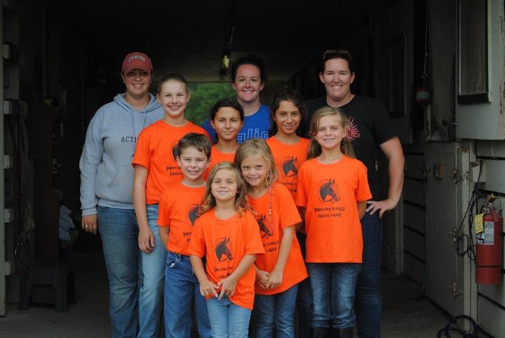 Dancing Pines Horse Camp T-Shirt Photo