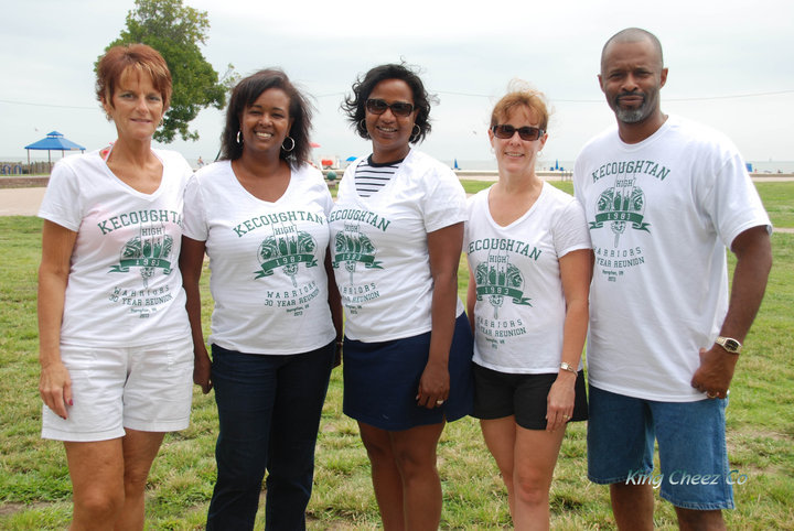 Class Reunion Picnic T-Shirt Photo
