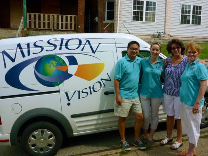 Mobile Eye Clinic Ministry T-Shirt Photo