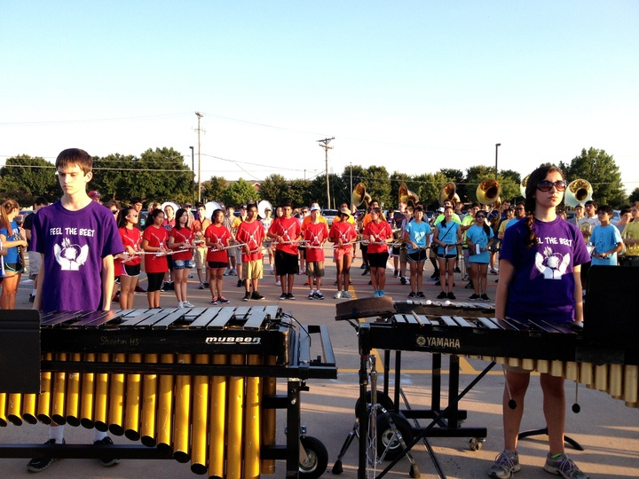 Shs Drumline T-Shirt Photo