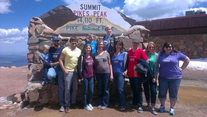 Cousinpalooza At Pikes Peak! T-Shirt Photo