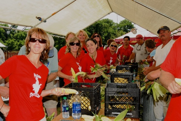 Mother Shuckers In Action! T-Shirt Photo