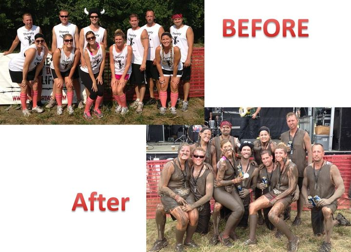 Warrior Dash 2013!! T-Shirt Photo