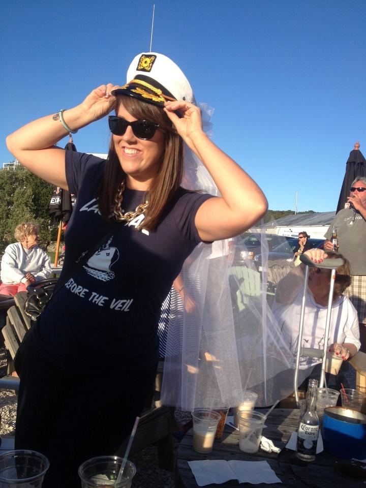 Captain Bride T-Shirt Photo