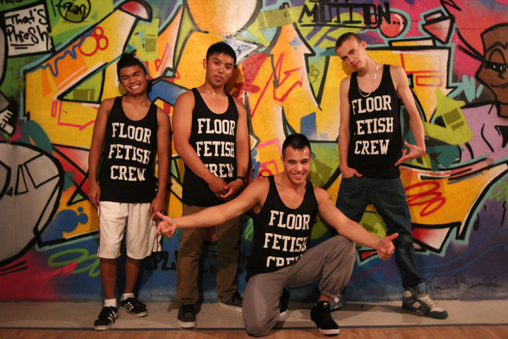Floor Fetish Crew @ Practice T-Shirt Photo