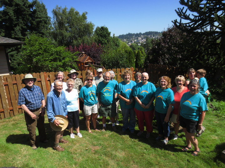 Linda's Team Summe Run For Ovarian Cancer T-Shirt Photo