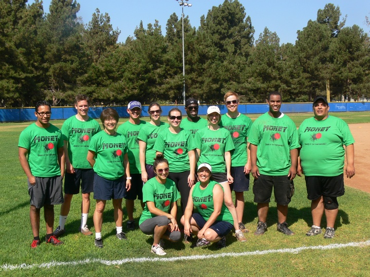Team Money    Chrissy Strong Kickball Tournament T-Shirt Photo