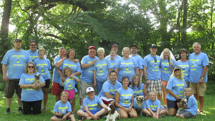 Annual Buetow Family Camping Excursion! T-Shirt Photo