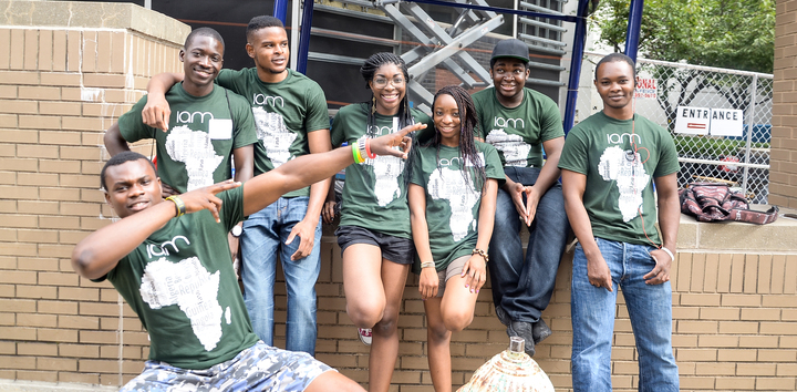 Njit African Students Volunteering T-Shirt Photo