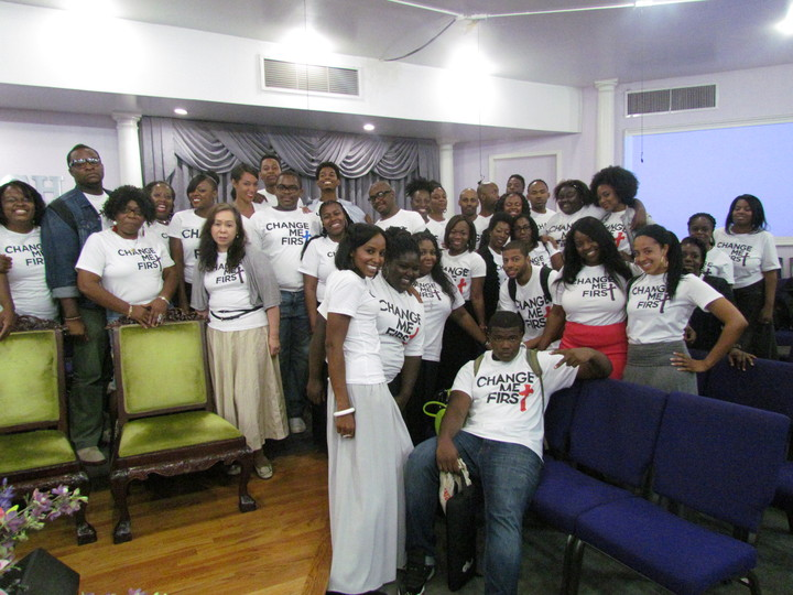 Change Me First Advocates Say Yes!  T-Shirt Photo