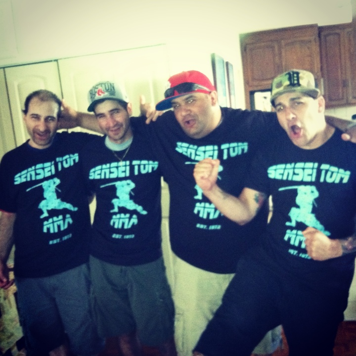Blue Ninja  T-Shirt Photo