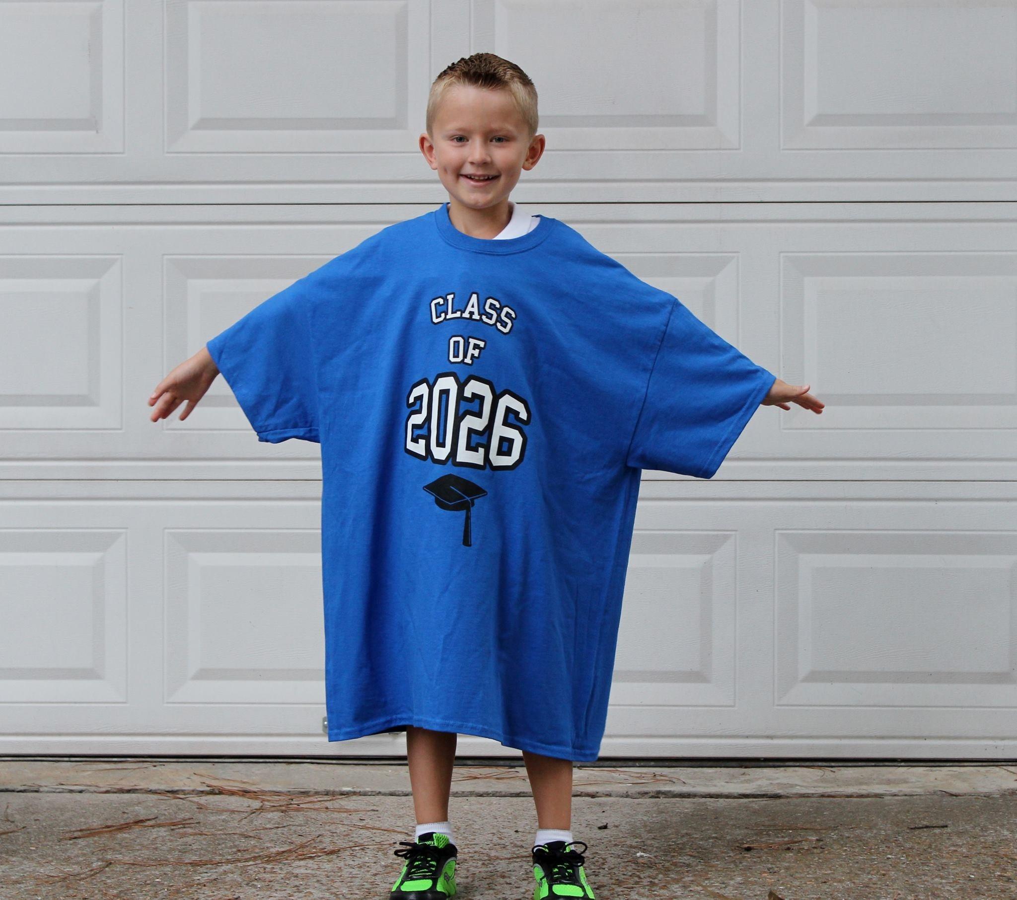Custom T-Shirts for The Graduating Class Of 2026 - Shirt Design Ideas