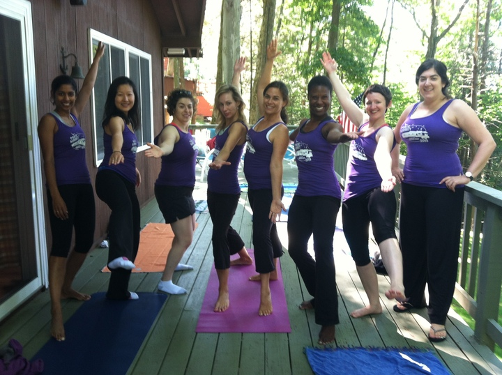 Pilates In Our Pokie Summit Tanks T-Shirt Photo