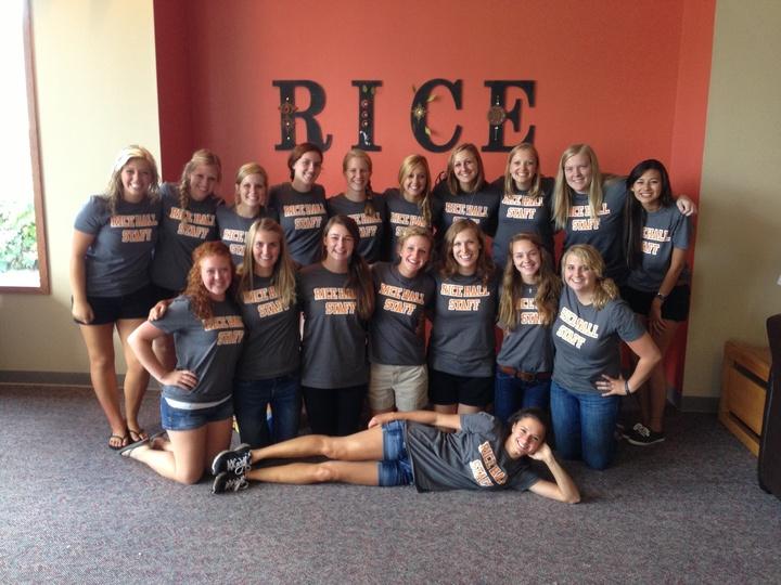 Rice Hall Staff 2013 2014! T-Shirt Photo