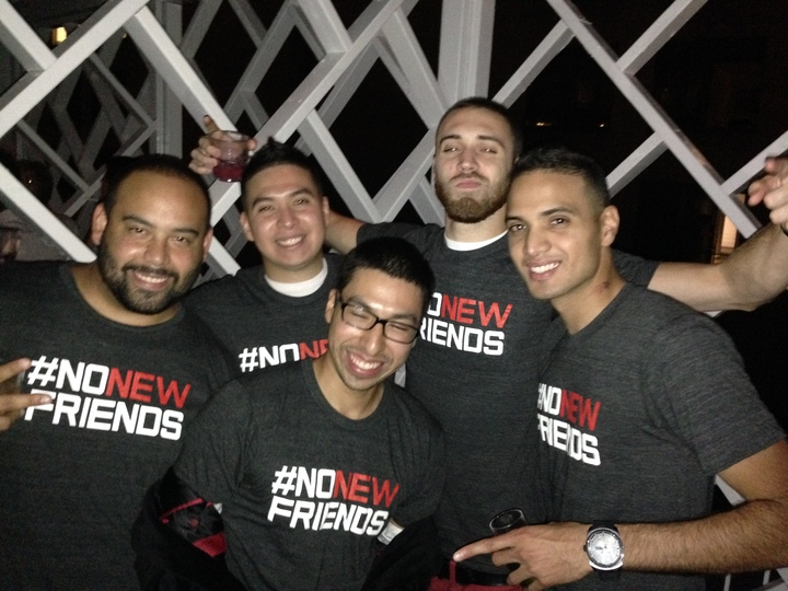 #Nonewfriends T-Shirt Photo