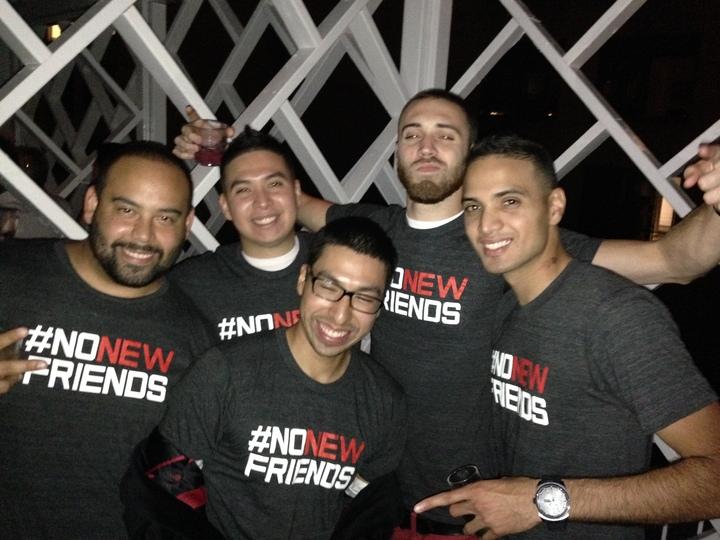 #Nonewfriends T-Shirt Photo