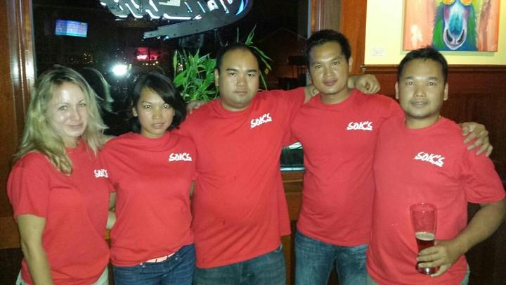 Sok's T-Shirt Photo