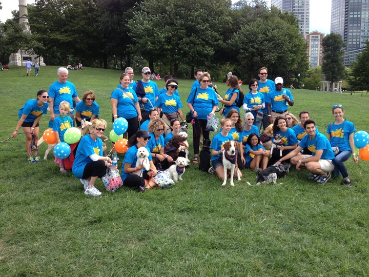 Team Photo For For Pet's Sake   2013 Walk For Animals T-Shirt Photo