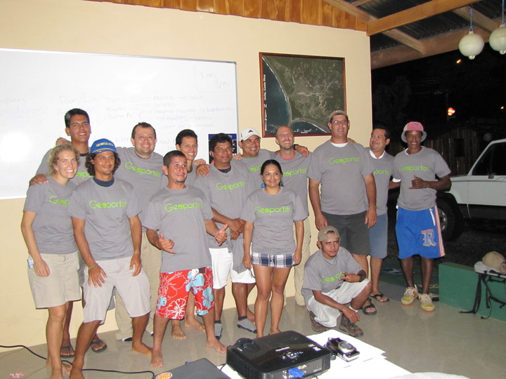 Geoporter At The Whale's Tale In Costa Rica T-Shirt Photo