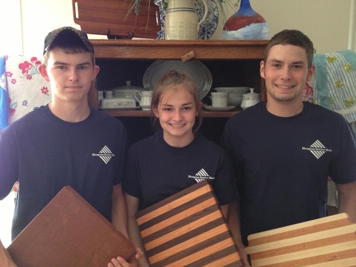 Bluegrass Butcher Block Employees T-Shirt Photo