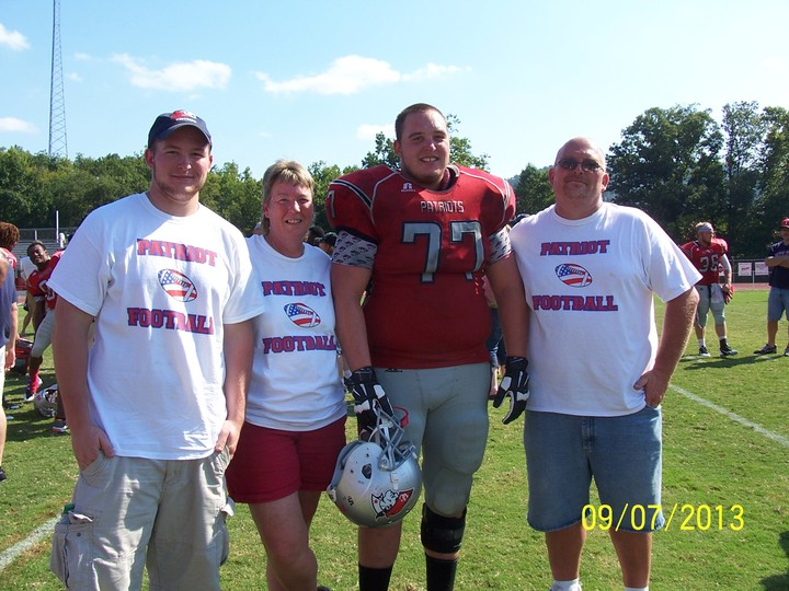 Patriot Football T-Shirt Photo
