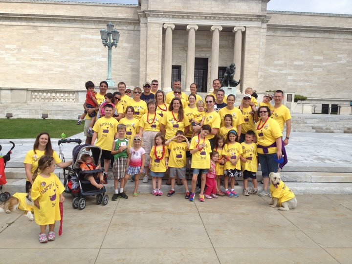 Maryn's Mob @ The Congenital Heart Walk T-Shirt Photo