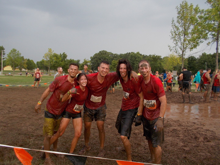 Tough Mudder Wi 2013 T-Shirt Photo