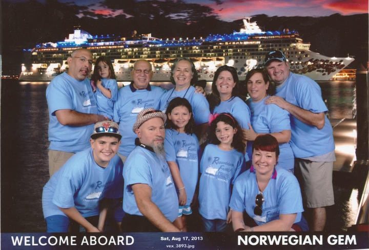 Rosenblum Family Cruise 2013! T-Shirt Photo
