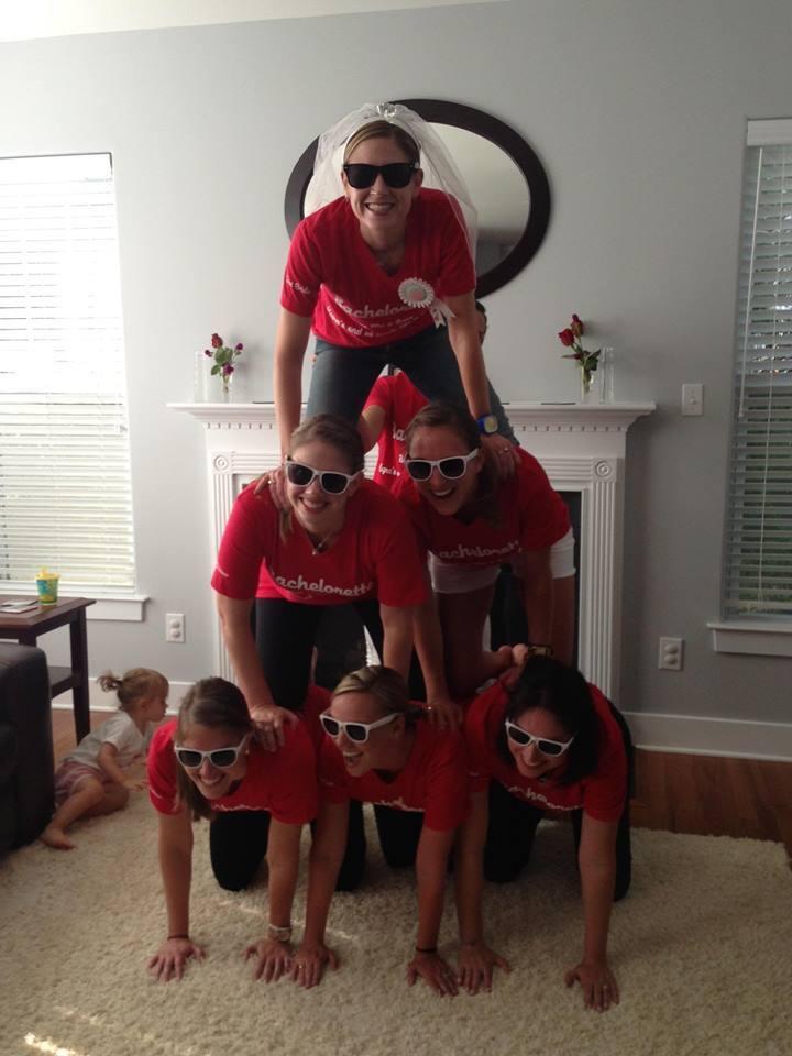 Bridesmaid Pyramid T-Shirt Photo