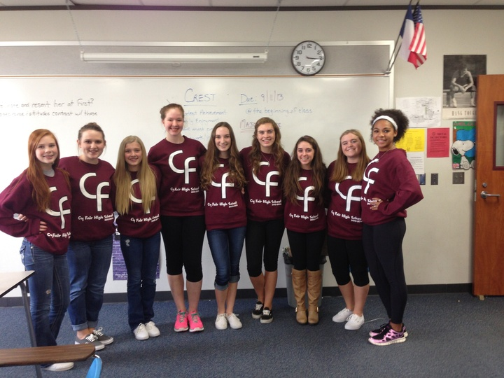 Reppin' Our School Sweatshirt! T-Shirt Photo