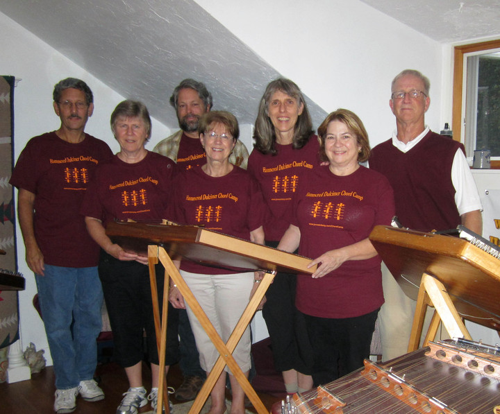 2013 Hammered Dulcimer Chord Camp T-Shirt Photo