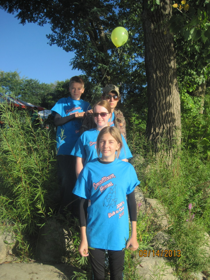 Jdrf's Walk To Cure Diabetes T-Shirt Photo