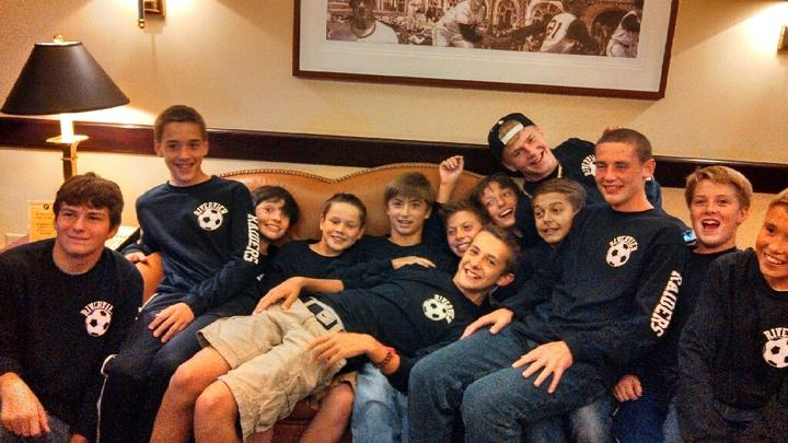 Riverview Jr Boys Soccer Team T-Shirt Photo