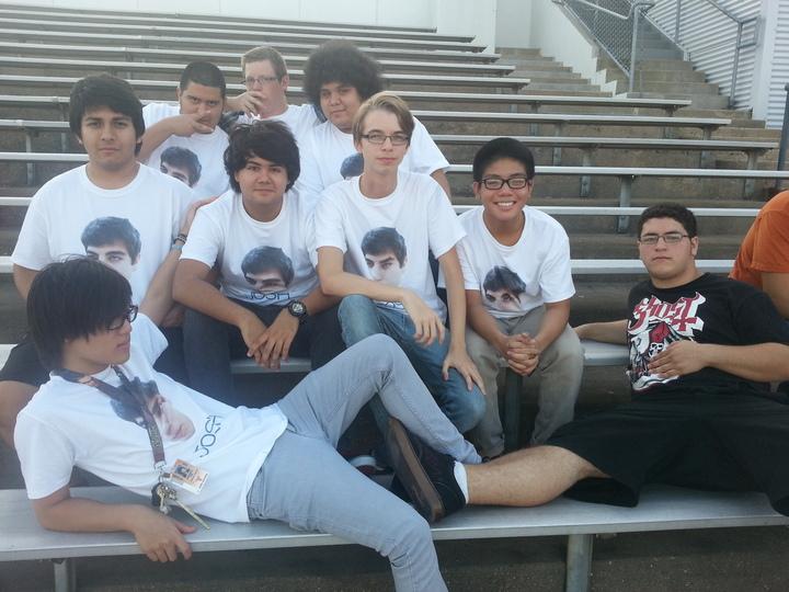 Supporting Josh! T-Shirt Photo