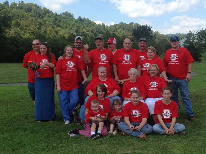 Brock Reunion 2013 T-Shirt Photo