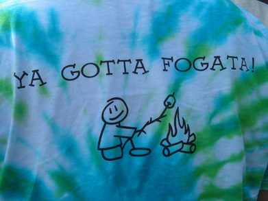 Back Of A Fogata Shirt T-Shirt Photo