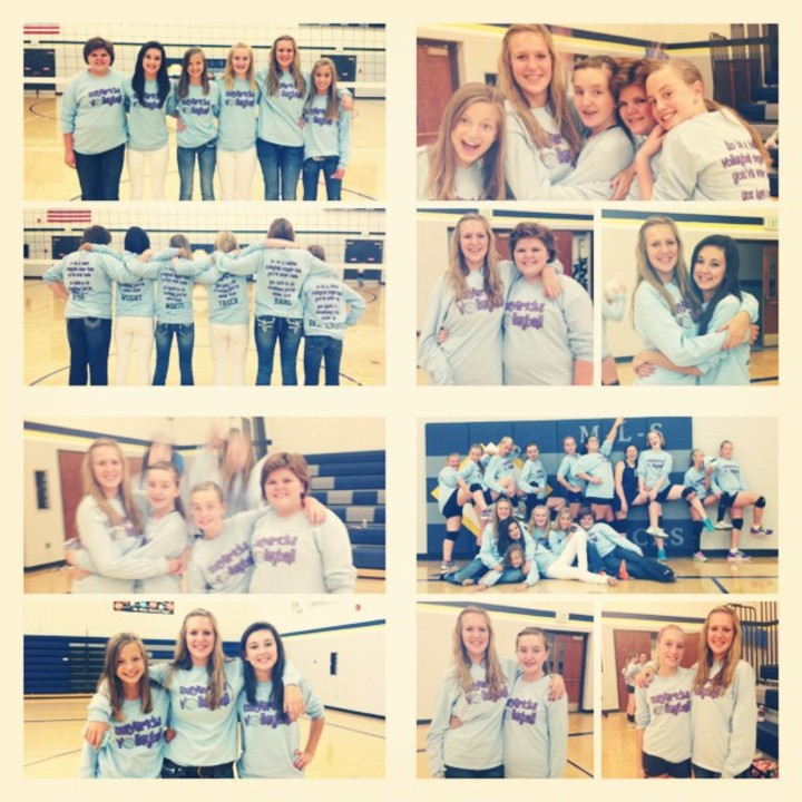 Mls Mavericks Jr High Volleyball Team T-Shirt Photo