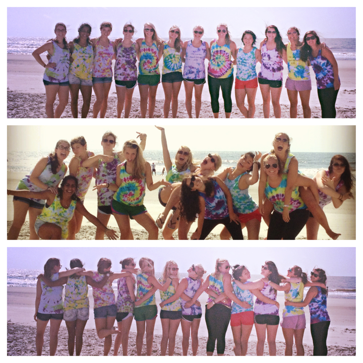 group photo ideas on the beach - Music Acappella Unc Friends Retreat Beach T Shirt Design