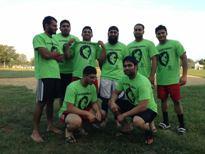 Kabaddi Team T-Shirt Photo