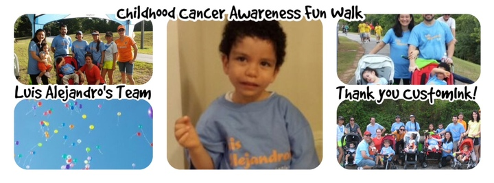 Childhood Cancer Awareness Fun Walk T-Shirt Photo