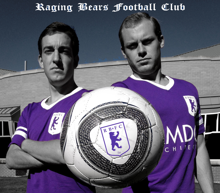 Raging Bears Football Club T-Shirt Photo