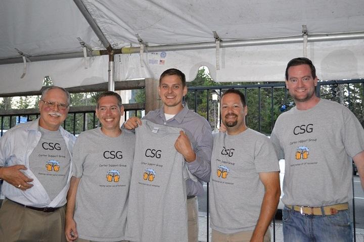 Carter Support Group T-Shirt Photo
