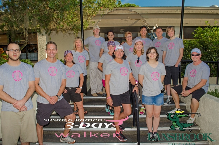 Golf For The Girls To Benefit The Tampa Bay 3 Day Walk T-Shirt Photo