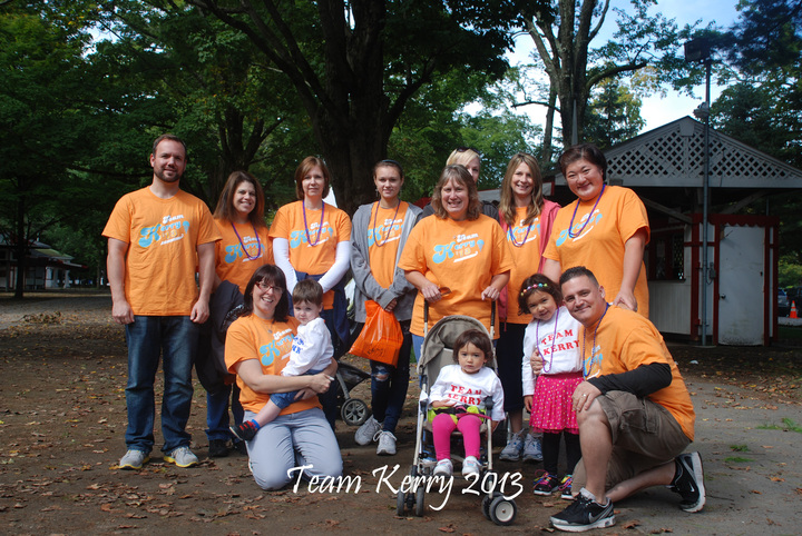 Team Kerry 2013/Capital Region Walk For R.I.T.A T-Shirt Photo