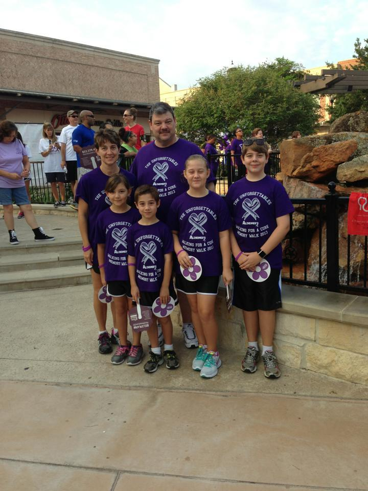 The Unforgettables At The Katy/West Houston Walk To End Alzheimers T-Shirt Photo